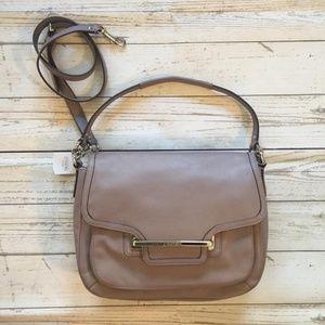 Coach Taylor Putty Leather Shoulder Bag